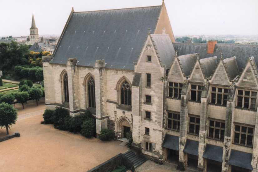 Logis royal et chapelle du ch teau d 39 angers - Boutique free angers ...