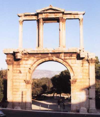 Porte d 39 hadrien ath nes for L encadrure de la porte