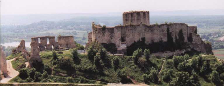 Donjon de château Gaillard